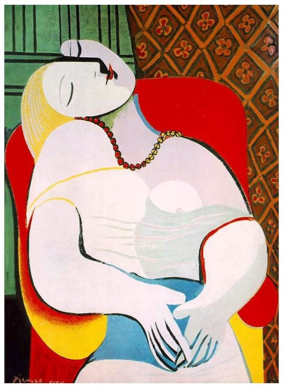 "Le Rêve (""The Dream"") by Pablo Picasso, 1932"